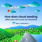 The effects of cloud seeding on your car