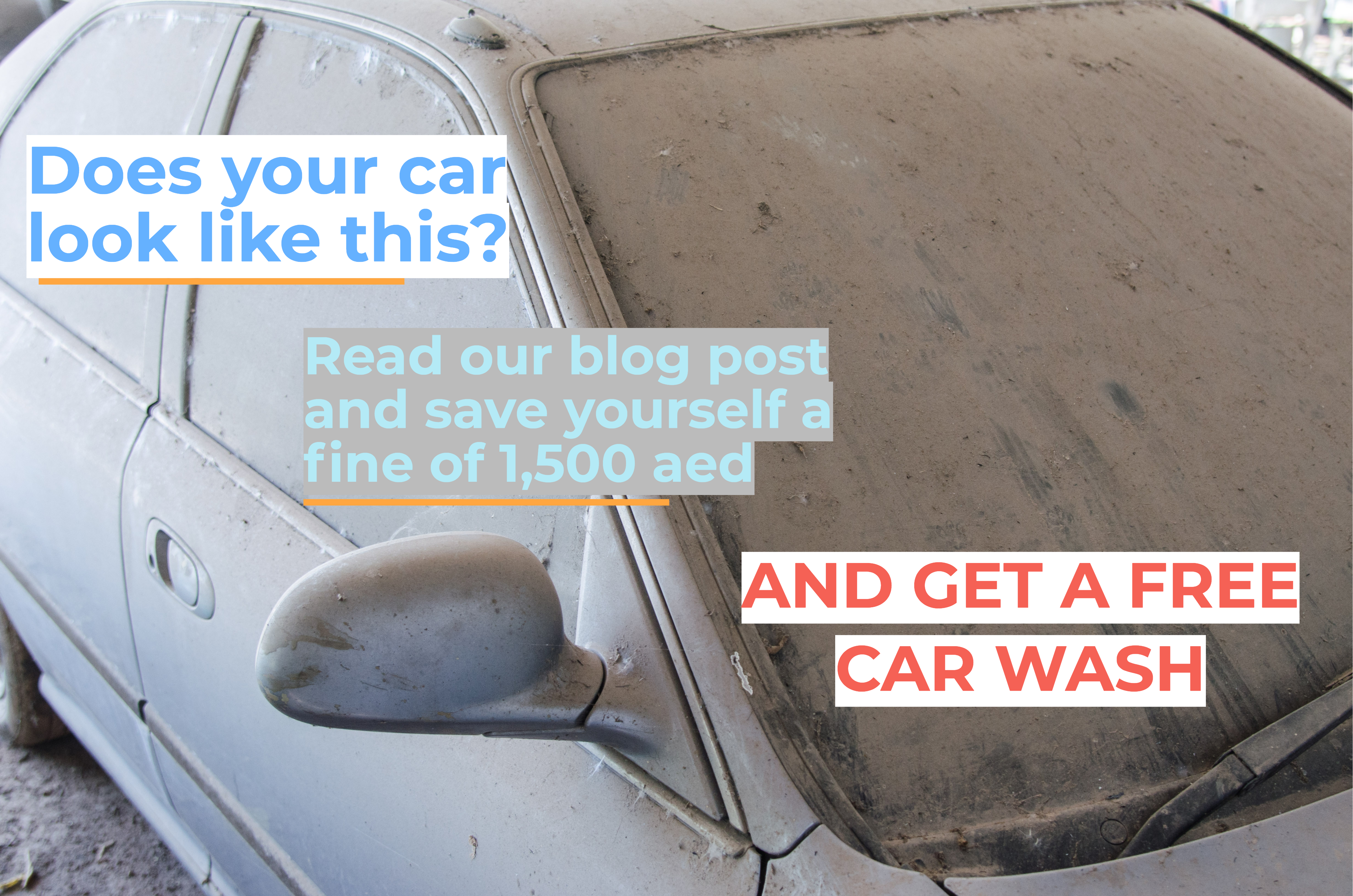 wash your car or be fined