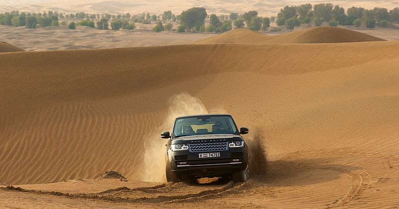Buy car insurance online to off-road in Dubai